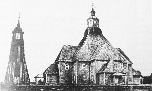 Евангелическо-лютеранская церковь Ингрии. Деревянная кирха. 1700-е гг.