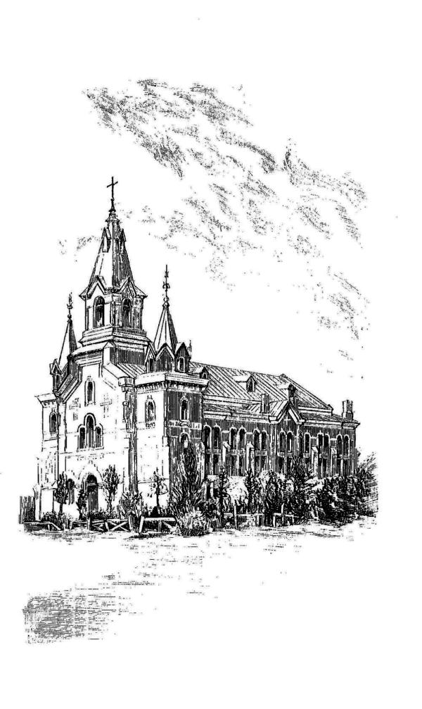 Евангелическо-лютеранская церковь св. Марии Магдалины прихода Венйоки. 1910-е гг.