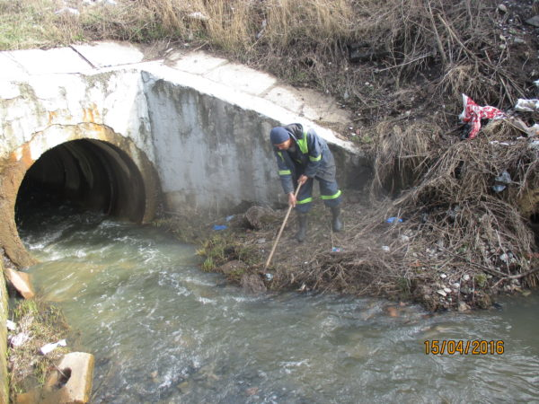 Обеспечение безопасности ГТС в период прохождения паводков