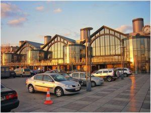 Рисунок 7. Вокзальный комплекс «Ладожский» в Красногвардейском районе