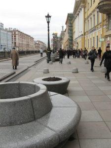 Реконструкция набережной канала Грибоедова. Фото Анны Тутаковой