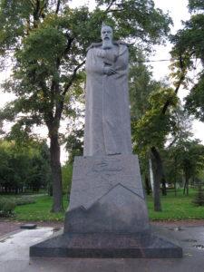 Памятник Н.К. Рериху. Фото Анны Тутаковой