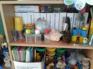 Уголок экспериментирования в старшей группе детского сада