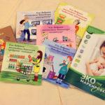 Цикл тематических брошюр с советами по выбору экотоваров. Разработчик – НП «Экологический союз»