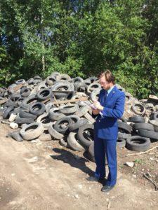 Помощник природоохранного прокурора г. Санкт-Петербурга Алексей Юрьевич Борискин