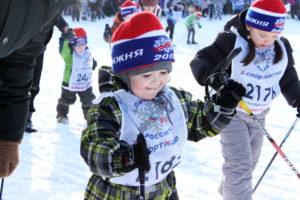 юные лыжники Фото Юрий Моргунов