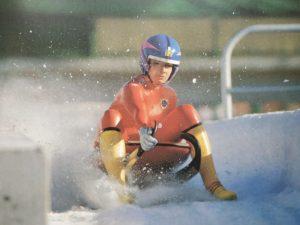 Олимпиада в Калгари в 1988 году (Ю.К. Антипова – 5-е место)